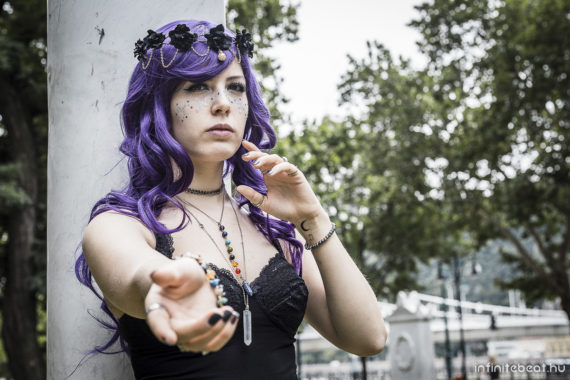 purple witch, pastelbow cosplay, pasterbunny, sachi, occult, wicca